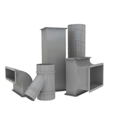 3. Distribúcia vzduchu a inštalačné elementy